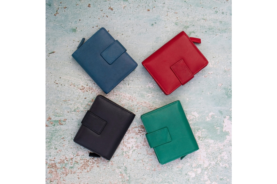 New Washed Leather Purses from Prime Hide
