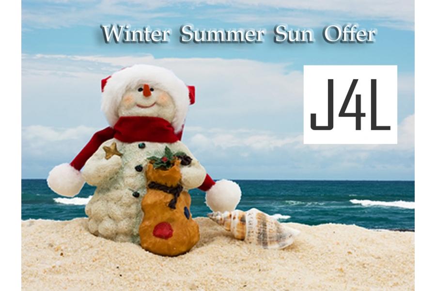 J4L: Winter Summer Sun Offer