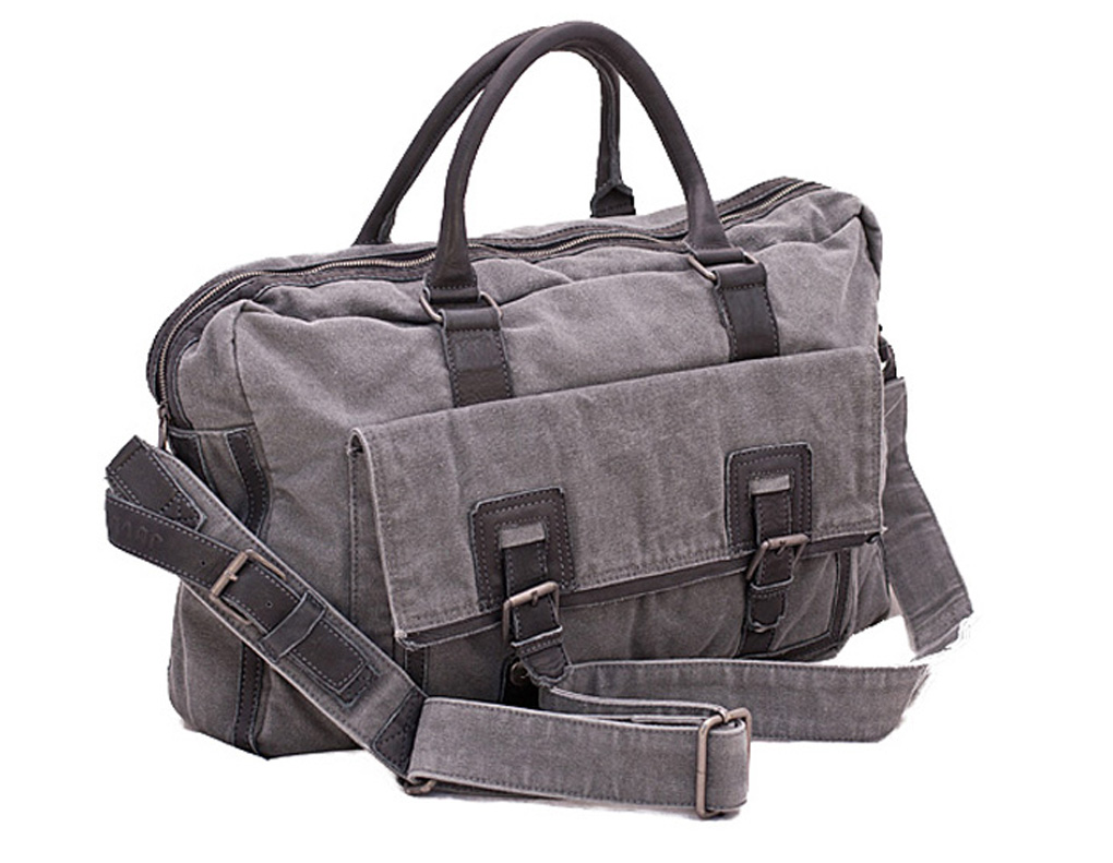 J4L Review: Lecerf Thick Canvas and Spanish Leather Holdall