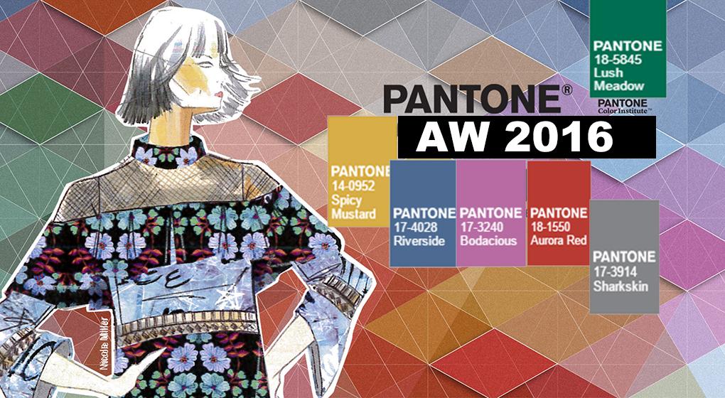 J4L: Pantone colours Autumn/Winter 2016 Collection