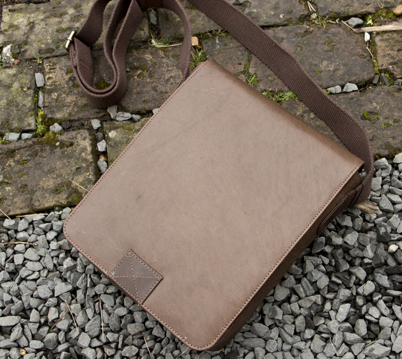 J4L Product Review: New Oiled Flapover Bag from Prime Hide