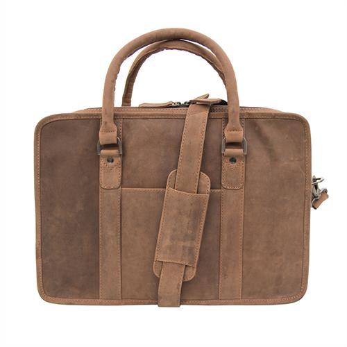 Prime Hide Leather Briefcase