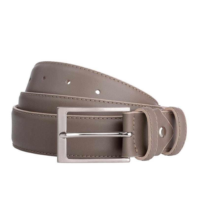 Brown Tan Leather Belt
