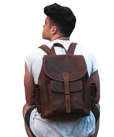 Leather backpacks from Just4Leather