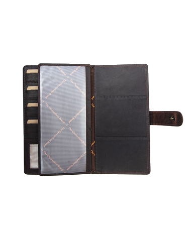 Leather Travel Planner
