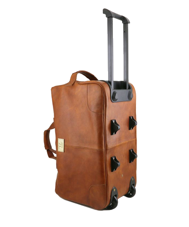 Leather Holdalls with Wheels